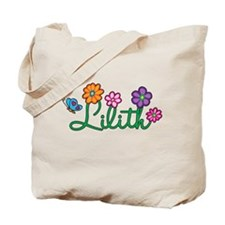 Lilith Flowers Tote Bag