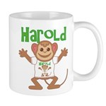 Little Monkey Harold Mug
