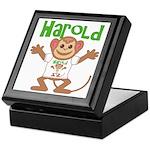 Little Monkey Harold Keepsake Box