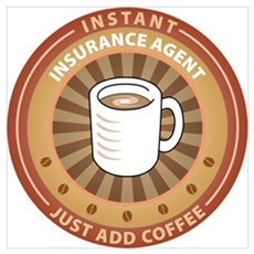 Instant Insurance Agent Poster