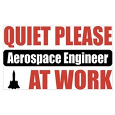 Aerospace Engineer Work Poster