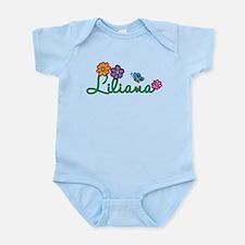 Liliana Flowers Infant Bodysuit