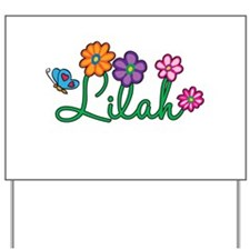 Lilah Flowers Yard Sign