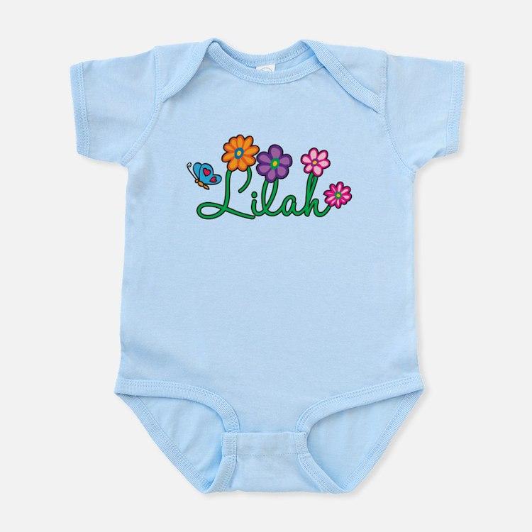 Lilah Flowers Infant Bodysuit