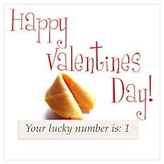 Valentine Fortune Poster