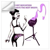 Court reporter Wall Decals