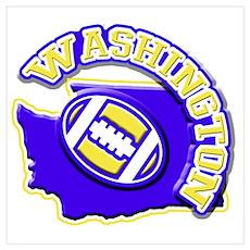 Washington Football Poster