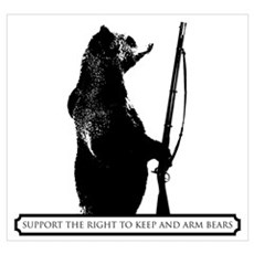 Keep and Arm Bears Poster