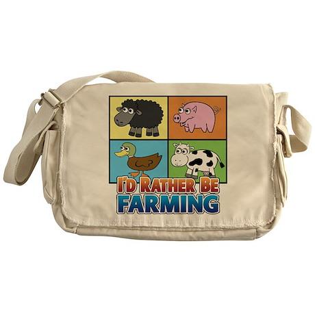 FARMING - Multiple Animals Messenger Bag