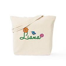 Liana Flowers Tote Bag