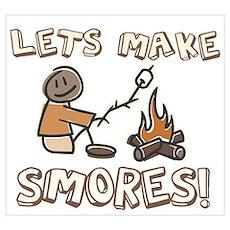Lets Make SMORES! Poster