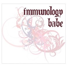 Immunology Babe Poster