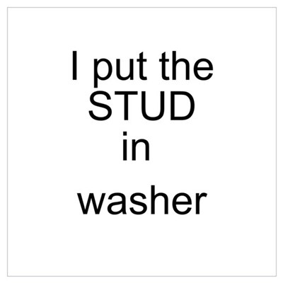Washer Poster