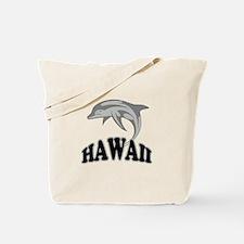 Hawaii Dolphin Souvenir Tote Bag