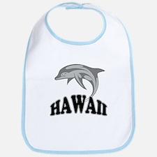 Hawaii Dolphin Souvenir Bib