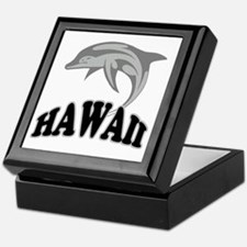 Hawaii Dolphin Souvenir Keepsake Box