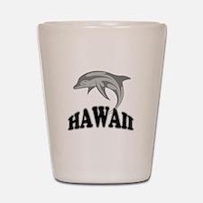 Hawaii Dolphin Souvenir Shot Glass