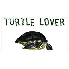 Turtle Lover Poster