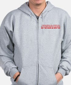 Sriracha - May The Sauce Be With You Zip Hoodie