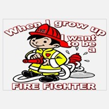 When I grow up Firefighter