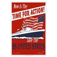 Save the SS United States! Poster