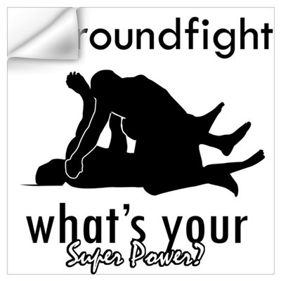 I Groundfight Wall Decal