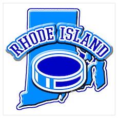 Rhode Island Hockey Poster