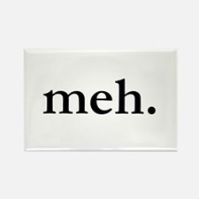 """Meh"" Rectangle Magnet (100 pack)"