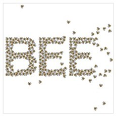 BEES (Made of bees) Poster