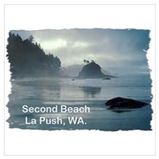 La Push, WA. 2 Framed Print