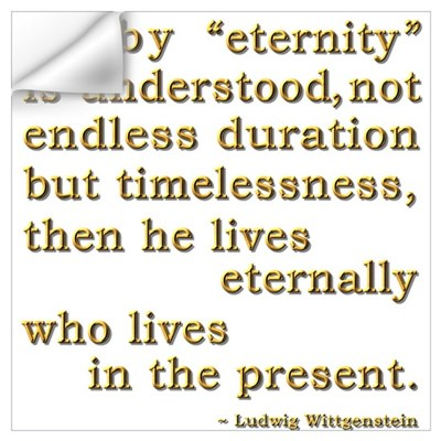 """Eternity"" Wall Decal"