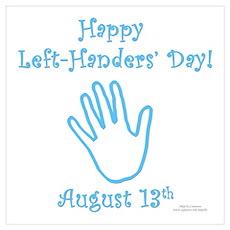 Left Handers' Day Poster