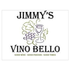 Jimmy's Vino Framed Print