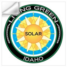 Living Green Idaho Solar Energy Wall Decal