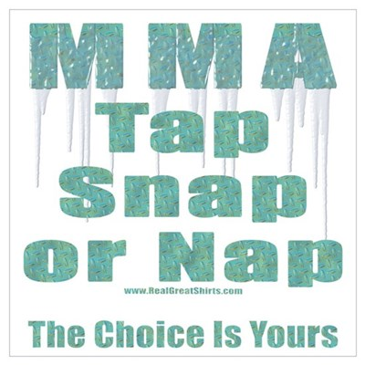 MMA Tshirts and Gifts Poster