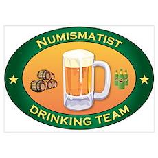 Numismatist Team Poster