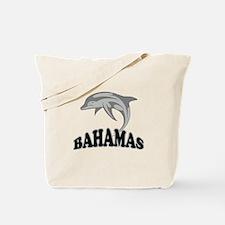 Bahamas Dolphin Souvenir Tote Bag