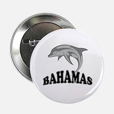 """Bahamas Dolphin Souvenir 2.25"""" Button"""