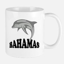 Bahamas Dolphin Souvenir Small Small Mug