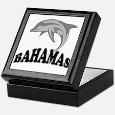 Bahamas Dolphin Souvenir Keepsake Box