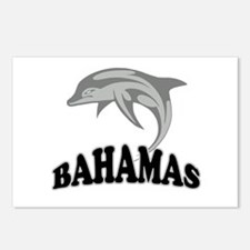 Bahamas Dolphin Souvenir Postcards (Package of 8)