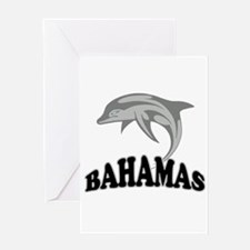 Bahamas Dolphin Souvenir Greeting Card