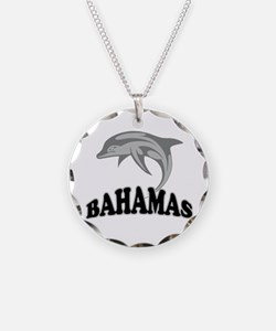 Bahamas Dolphin Souvenir Necklace