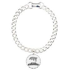 Bahamas Dolphin Souvenir Charm Bracelet, One Charm