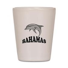 Bahamas Dolphin Souvenir Shot Glass