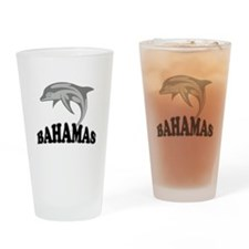 Bahamas Dolphin Souvenir Drinking Glass