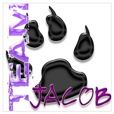 Team Jacob New Moon Movie Poster
