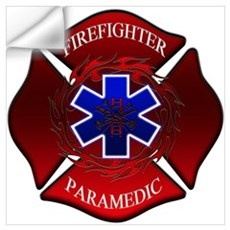 FIREFIGHTER-PARAMEDIC Wall Decal