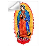 Mexican virgin Wall Decals