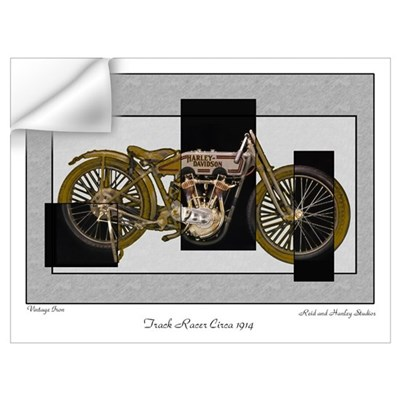 1914 Vintage Iron Wall Decal